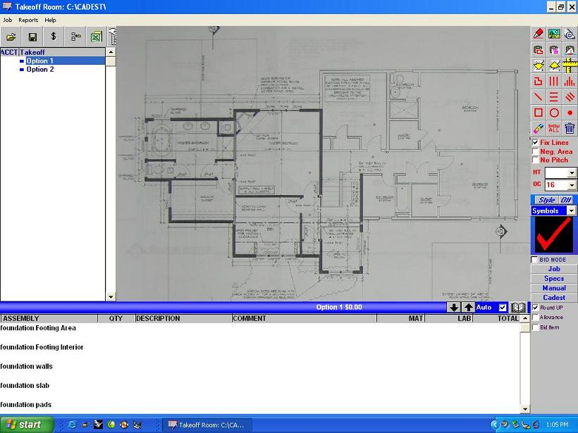 Turn your digital camera into a blueprint scanner for for Blueprint estimator